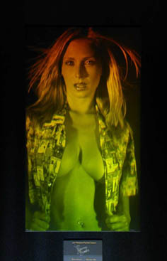 Official Playmate Holograph
